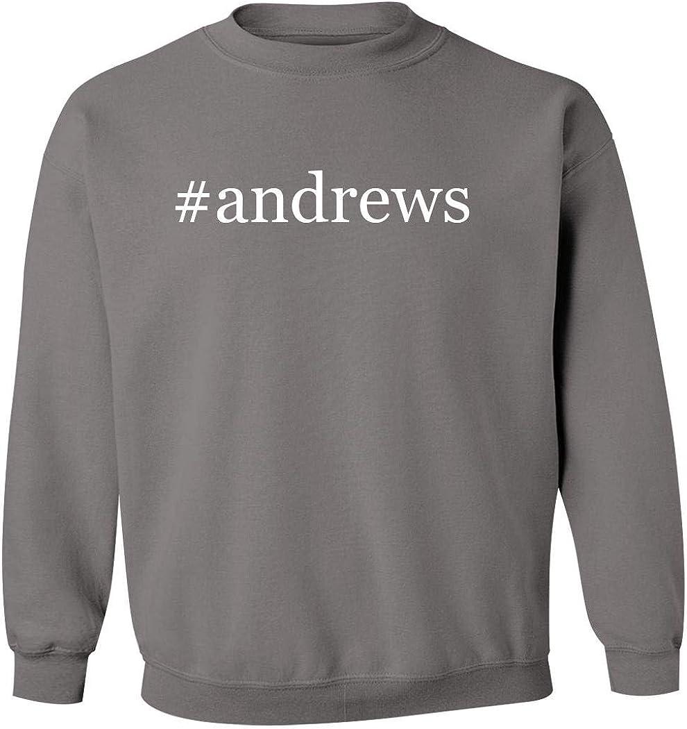 #Andrews - Men'S Hashtag Pullover Crewneck Sweatshirt
