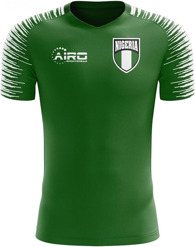 Airosportswear 2020-2021 Nigeria Home Concept Football Soccer T-Shirt Jersey