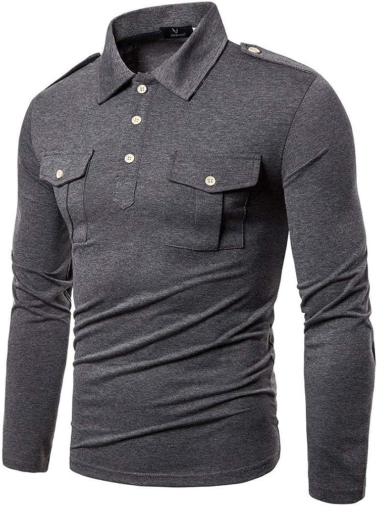 Mr.BaoLong&Miss.GO Camisas Polo para Hombres Camisetas De ...