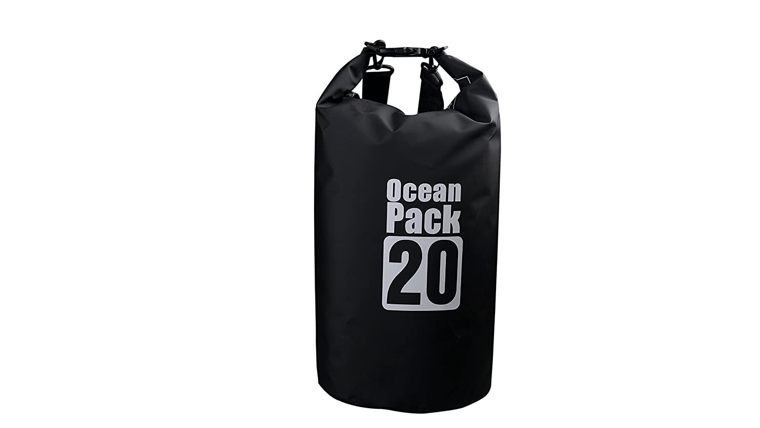 ProOffer 2L/3L/5L/10L/15L/20L/30L 500D Tarpaulin Heavey-Duty PVC Water Proof Dry Bag Sack for Kayaking/Boating/Canoeing/Fishing/Rafting/Swimming/Camping/Snowboarding