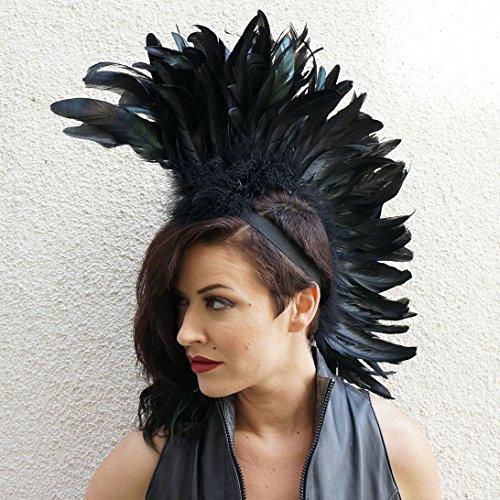 Zucker Feather Products Feather Mohawk Light Weight Headdress -