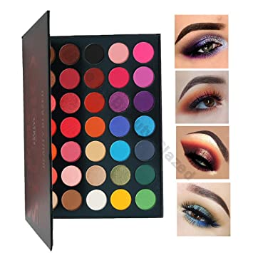 Beauty Essentials Eye Shadow Hot Sale Beauty Glazed Matte Shimmer Eyeshadow Palette 9 Colors Long Lasting Smooth Professional Makeup Pigment Eye Shadow Kit Selected Material