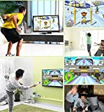 WOLSEN CAMERA MOTION TV GAME,INTERACTIVE,BY BODY MOTION AND WIRELESS JOYSTICK CONTROL For TV