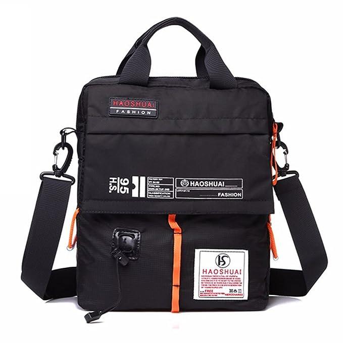 e8dd3122d6 Men Nylon Waterproof Satchel Messenger Bags Casual Shoulder Cross Body Bags