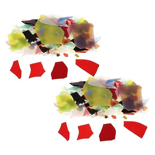 IPOTCH 56 G/Conjunto Mezclado Hermosos Chips De Vidrio Fusión ...
