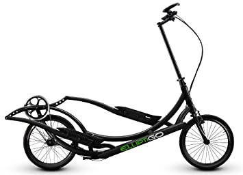 ElliptiGO 8C - The Worlds First Outdoor Elliptical Bike (Black)