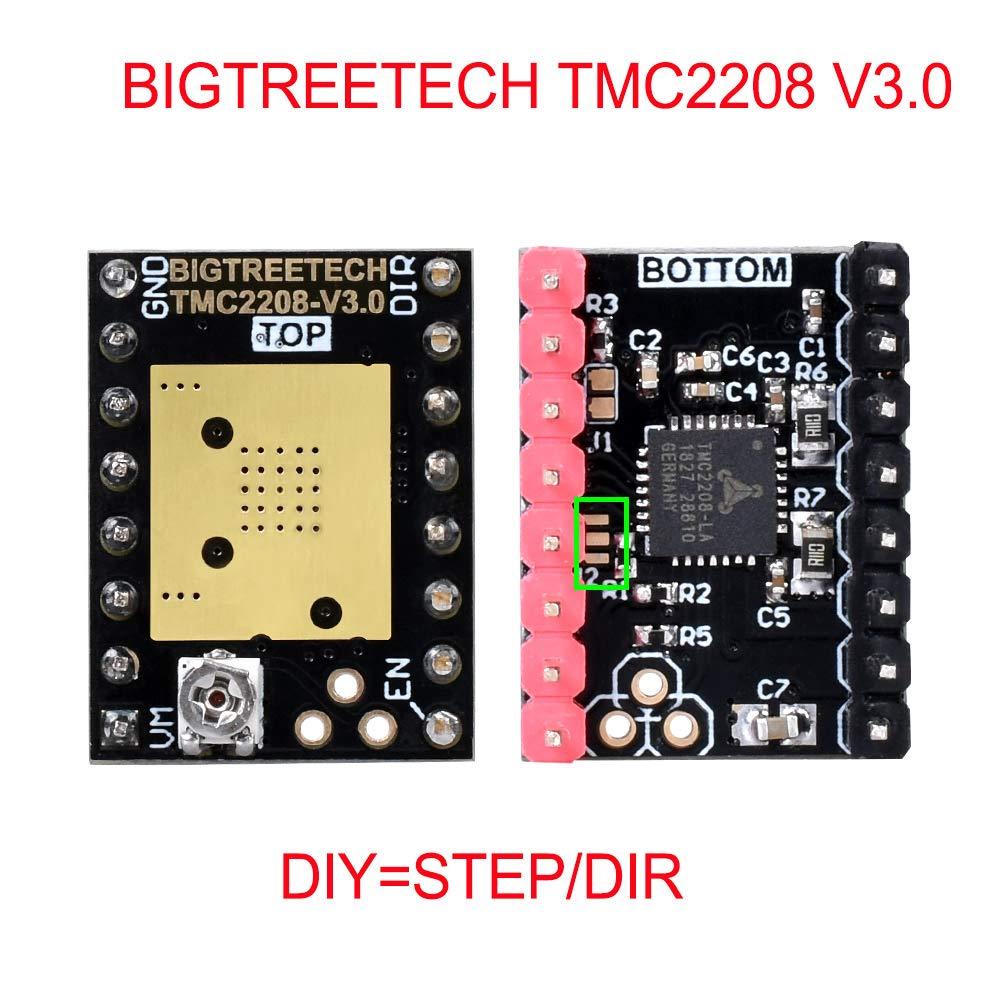 controlador de Motor paso a paso UART VS TMC2208 TMC2130 A4988 3D ...