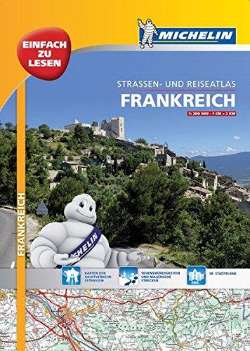 Michelin Straßenatlas Frankreich mit Spiralbindung: DIN A3