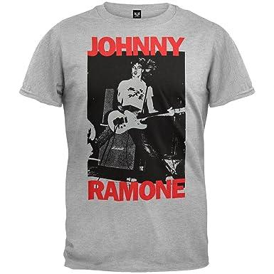 Amazon.com: Ramones - Johnny Ramone T-Shirt: Clothing