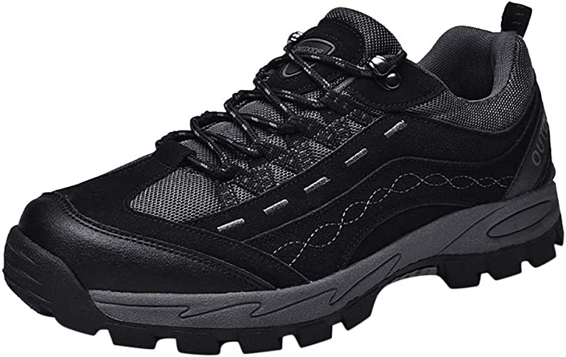 Men Hiking Shoes Running Sneakers Outdoor Walking Sports Athletic Shoes Fashion