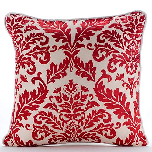 The HomeCentric Designer Cayenne Red Euro Shams Covers, 26