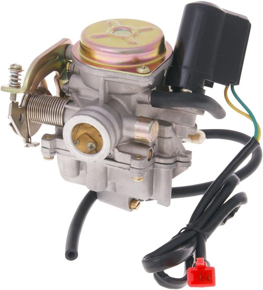 JL50QT-4 Vergaser mit Metalldeckel f/ür Flex Tech Hurrican X1 4T