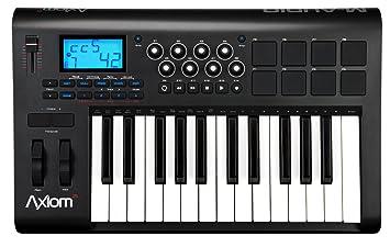 M-Audio Axiom 25 MKII Teclado Midi con 25 Teclas y 8 Pads: Amazon.es: Juguetes y juegos