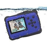 Cámara Digital para niños, Vmotal GDC5262 cámara Impermeable para niños con Pantalla LCD TFT de 2 Pulgadas, cámara…