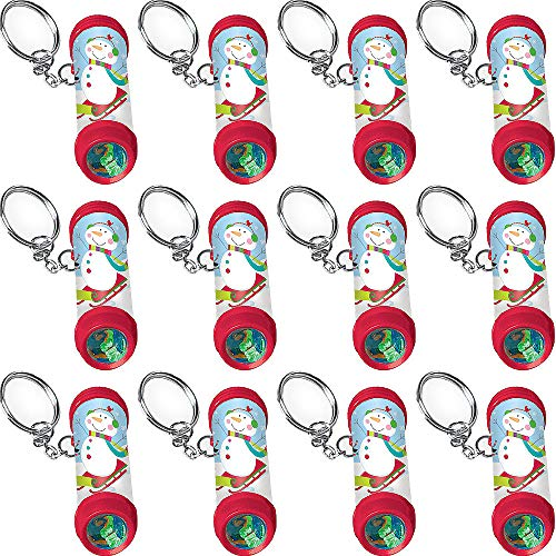 Clip-On Winter Kaleidoscopes 12ct | Christmas Favors; Xmas Kids Goodie/Gift bags favors