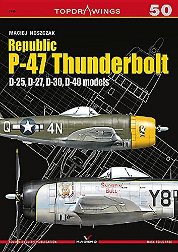 Used, Republic P-47 Thunderbolt: D-25, D-27, D-30, D-40 models for sale  Delivered anywhere in USA