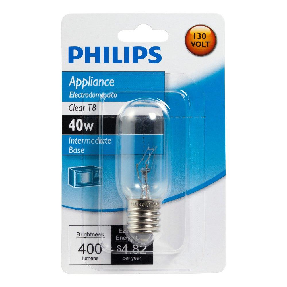Philips 416255 Appliance 40 Watt T8 Intermediate Base Light Bulb    Incandescent Bulbs   Amazon comPhilips 416255 Appliance 40 Watt T8 Intermediate Base Light Bulb  . Base Lighting And Fire Limited. Home Design Ideas
