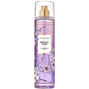 Bath and Body Works Fresh Cut Lilacs Fine Fragrance Mist Ounce Spray Summer 2020 Collection