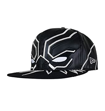Black Panther Armor New Era 5950 Hat- 7 1 8 at Amazon Men s Clothing store  05eae72d384
