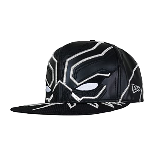 a696ff9ba5d Black Panther Armor New Era 5950 Hat- 7 1 8 at Amazon Men s Clothing ...