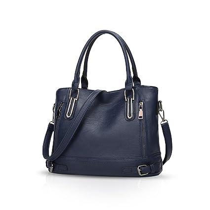 d3fec63a7a NICOLE & DORIS Femmes Sac à bandoulière Sac fourre-tout Sac à main  Messenger Bag