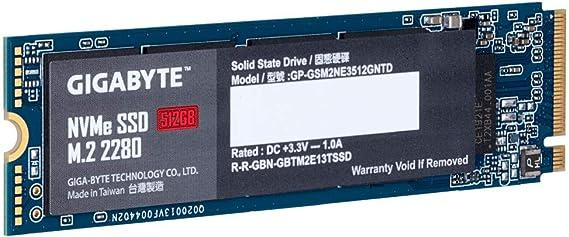 Gigabyte Gp Gsm2ne3512gntd Nvme 1 3 M 2 Elektronik