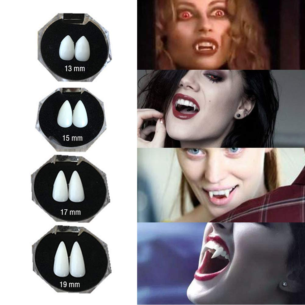 Vampire Teeth Fangs Dentures Halloween Cosplay Props Costume Props Party Favors