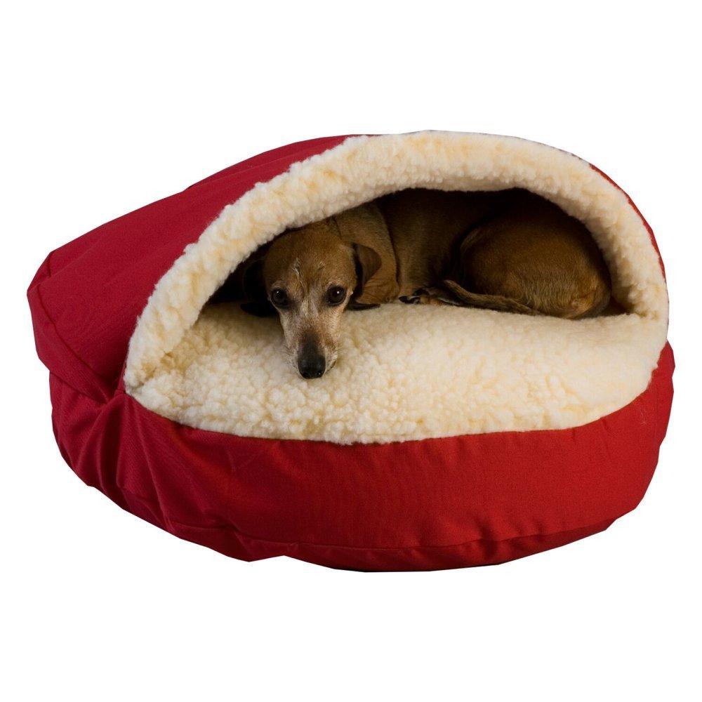 Snoozer Cozy Cueva, pequeño, Color Rojo: Amazon.es: Productos para mascotas