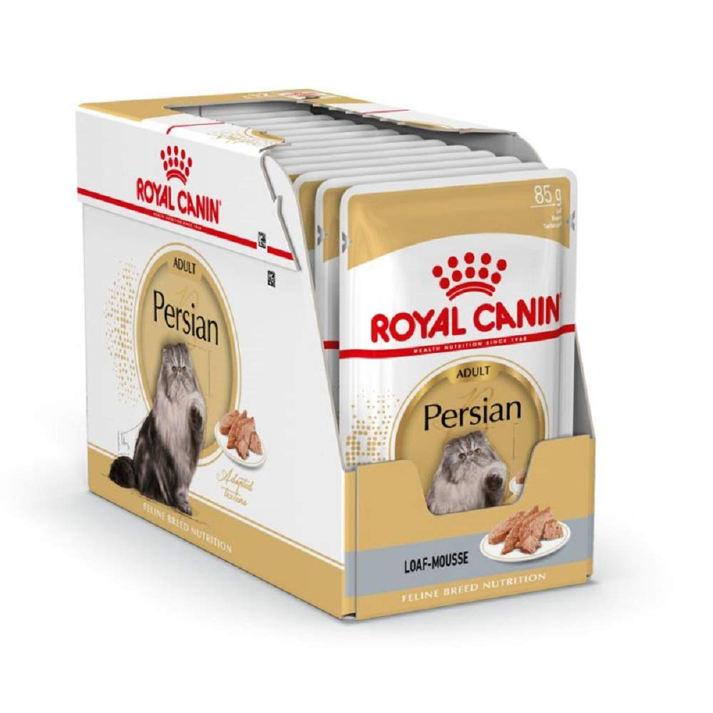 PaylesswithSS Royal Canin Breed Persian Cat Food Saver Pack 48 x 85g