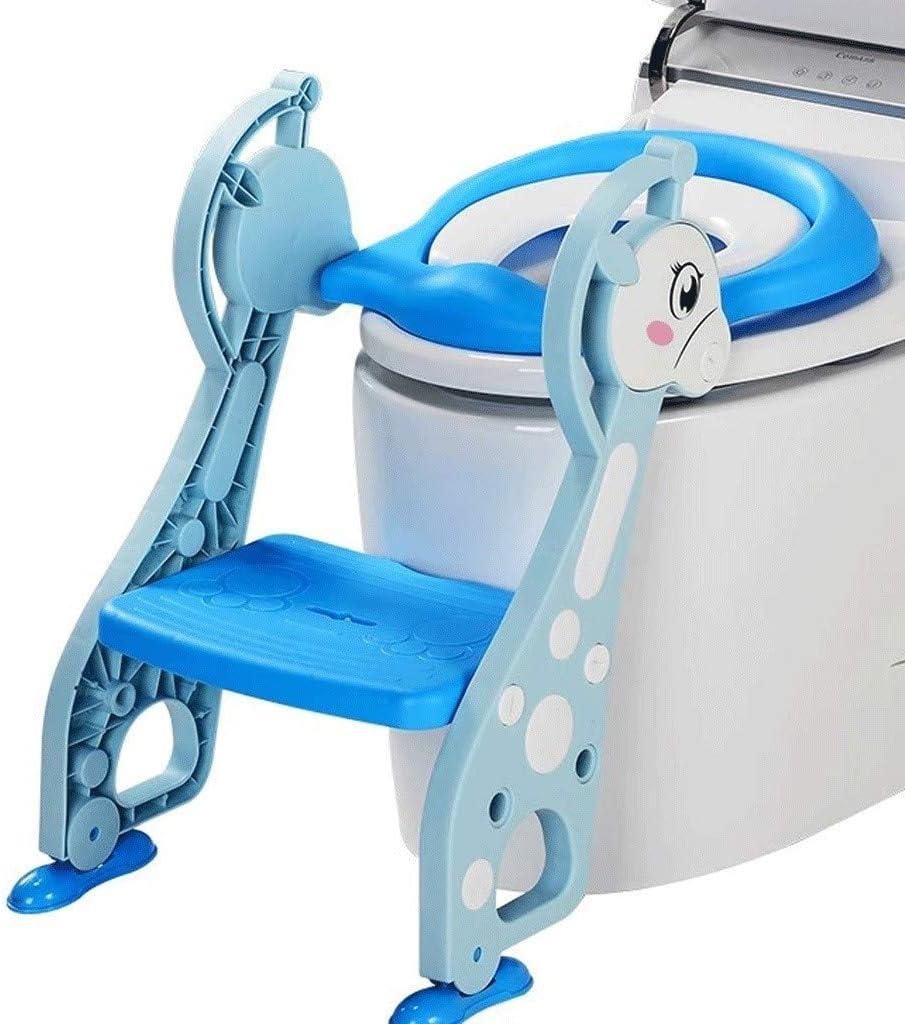 Asiento Escalera Aseo Escalera For IR Al Baño, Inodoros For Niños Escalonado WC WC WC Escalera Niño Niño WC Auxiliar For Niños Y Niñas De Bebé Plegable con Asas Cómodo Asiento: Amazon.es: