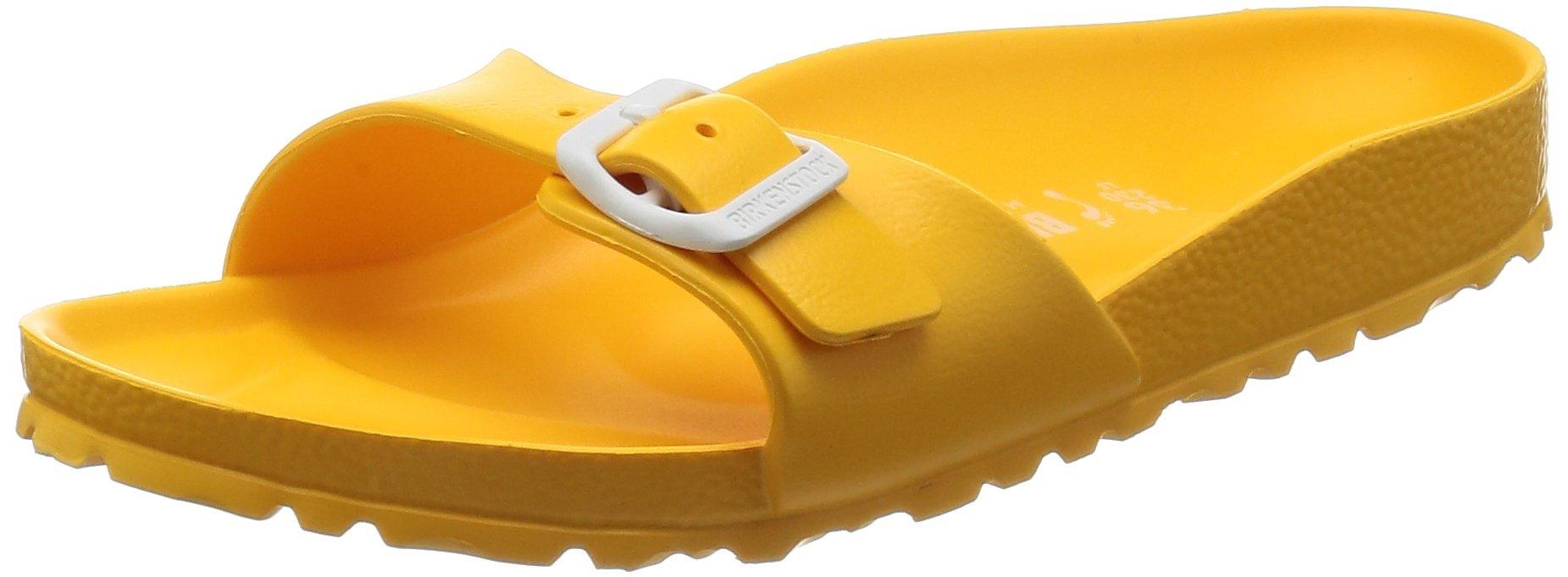 Birkenstock Madrid EVA Narrow Fit- Scuba Yellow 1003516 (Man-Made) Womens Sandals 37 EU