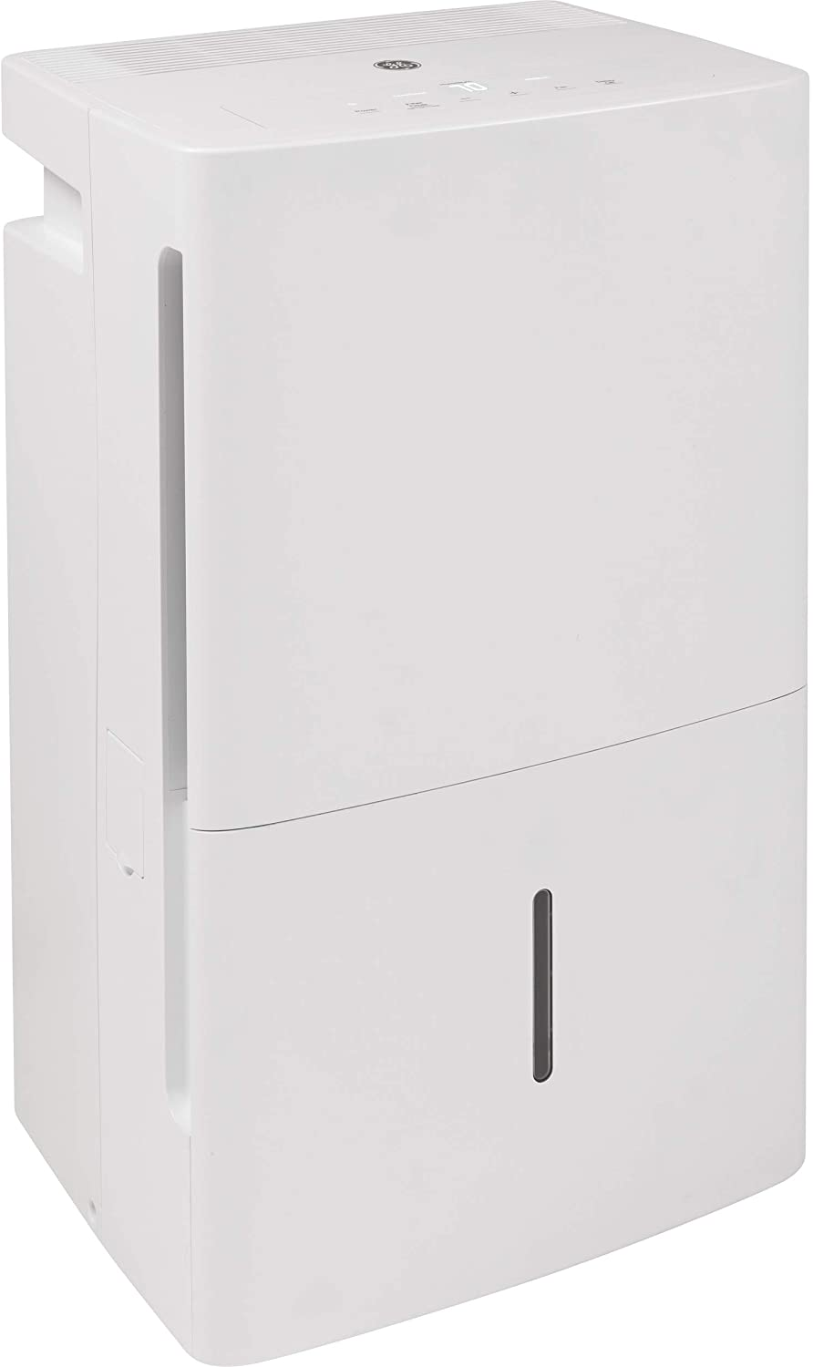 GE ADEL35LZ-GE 35 Pint Energy Star Dehumidifier with Digital Controls for Very Damp Rooms, White