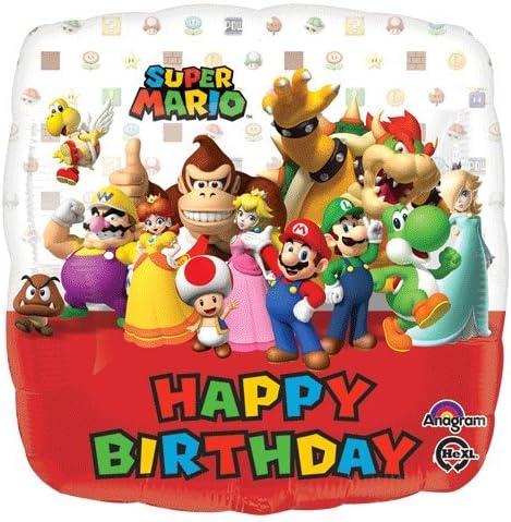 Amazon.com: Luigi Mario Brothers decoraciones de fiesta de ...