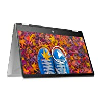 HP Pavilion x360 Touchscreen 2-in-1 FHD 14-inch Laptop (10th Gen Core i5-10210U/8GB/512GB SSD/Win 10/MS Office/Mineral Silver), 14-dh1179tu