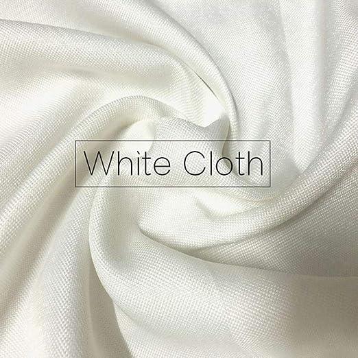 Cortina de ventana gruesa pura blanca moderna Sala de estar ...