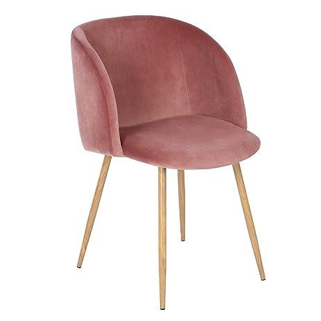 Amazon.com: Mid-Century Velvet Accent Living Room Chair ...