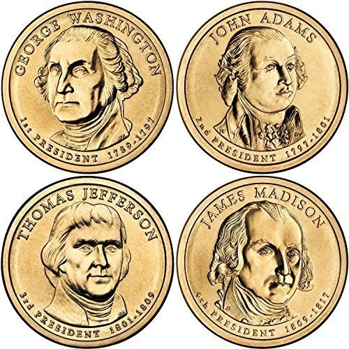 2007 D Presidential Dollar Choice About Uncirculated ()