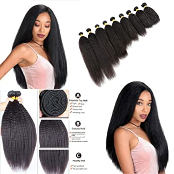 Weave extensions for black hair