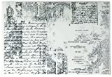 Prima Marketing 814656 Texture Iron Orchid Designs Cling Stamps, 5'' by 7'', Clear
