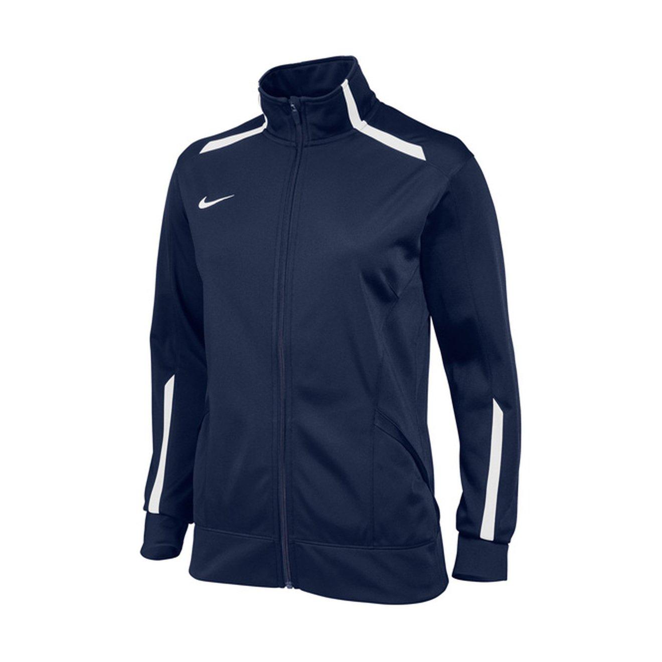 NikeレディースOvertime Jacket B00IBB2KC6 Large|ネイビー ネイビー Large