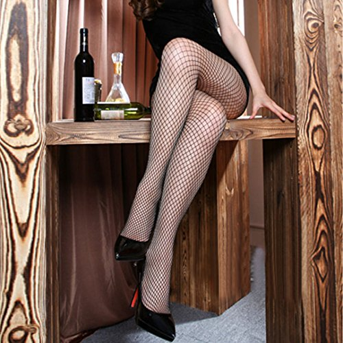Anti Netto In Womens Summer Sexy Nero Collant Rete Slim Trasparente hook Abby a Calze Filo vHxzqS