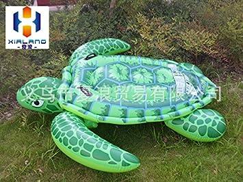 qfl infantil hinchable Tortuga, tortuga Jinete Medium Agua ...