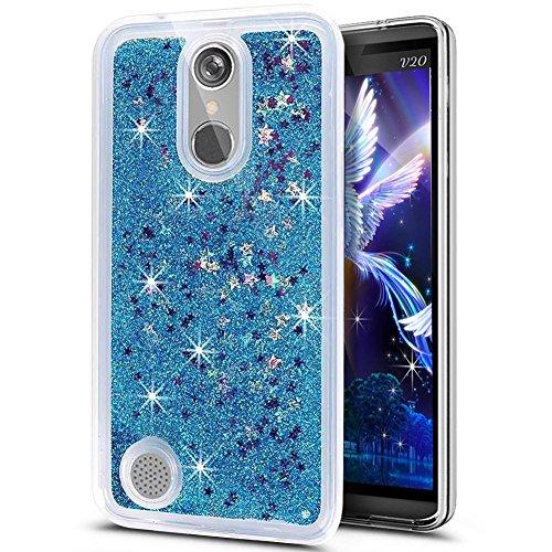 Case 2017 K10 K10 LG Case Case Cover LG Plus Silicone LG K20 2017 2017 Transparent LG K10 LG Case V Liquid Glitter EMAXELERS TPU 1 Slicone TPU Liquid 2017 Star LG Flowing LG LV5 K10 K20 Bling Glitter Stars f4PXAcH