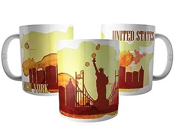 f7dd6ca15 Caneca Nova York Estados Unidos - Lembrança de New York USA  Amazon ...