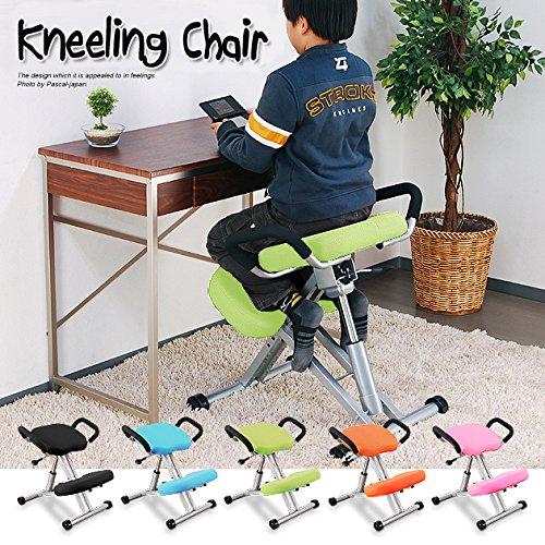ニーリングチェア (グリーン) キッズチェア 長時間 学習椅子 バックボーンチェア 子供用 椅子 姿勢 改善 B06ZYHJX7W Parent