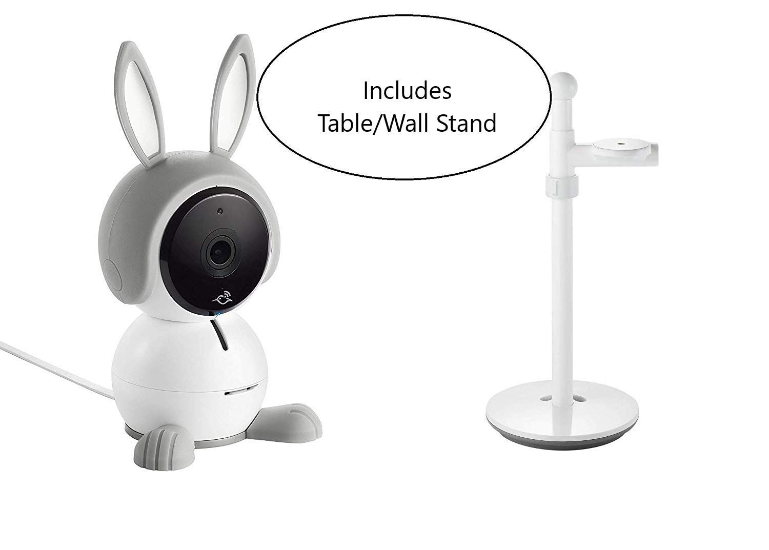 Arlo Baby All-in-One Baby Monitor Plus Table/Wall Stand by Arlo Technologies, Inc (Image #1)
