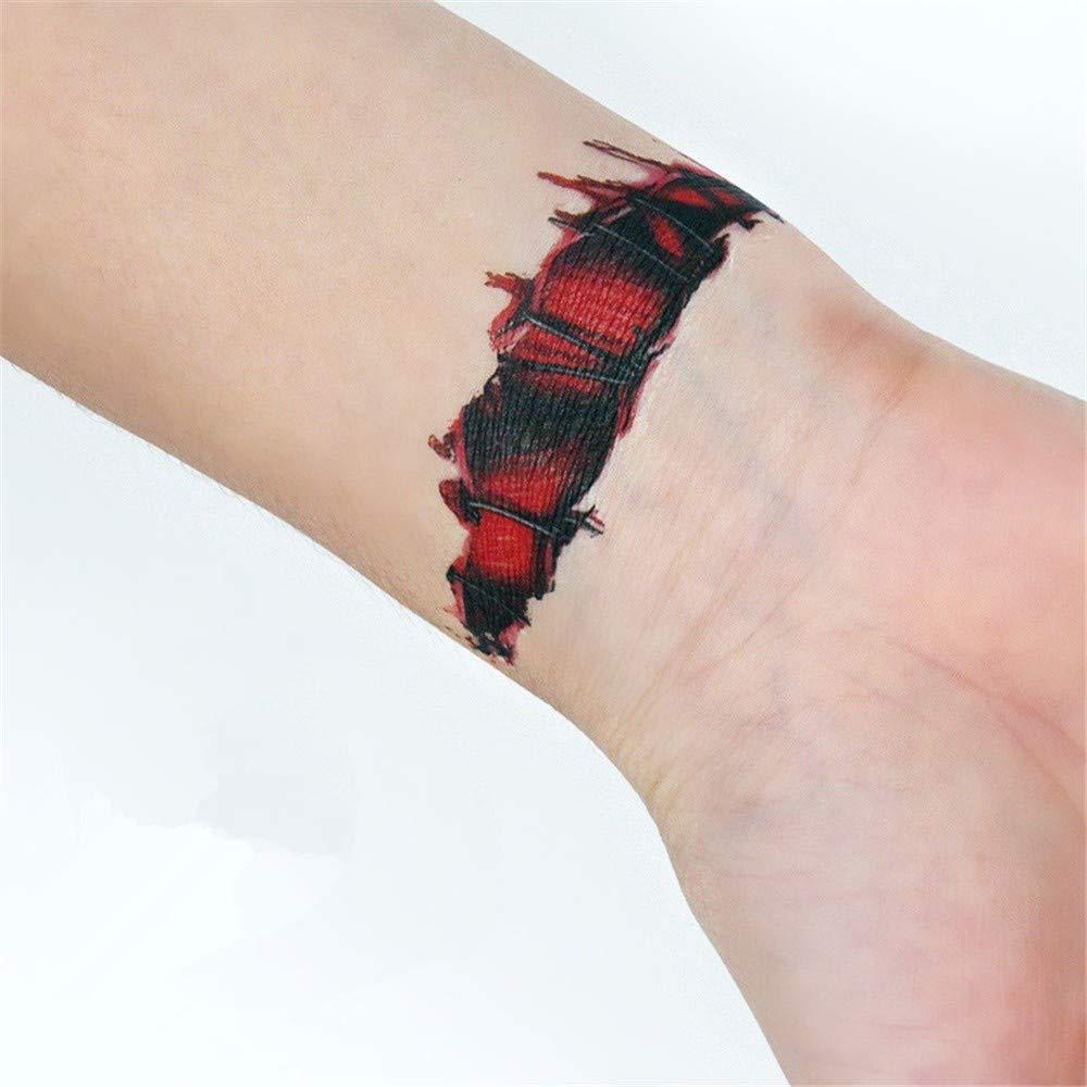 Amazon.com: JYJSYM Halloween, pegatinas de tatuaje ...