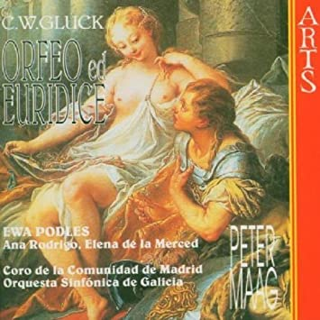 gluck orfeo ed euridice by ewa podles ana rodrigo elena de la merced