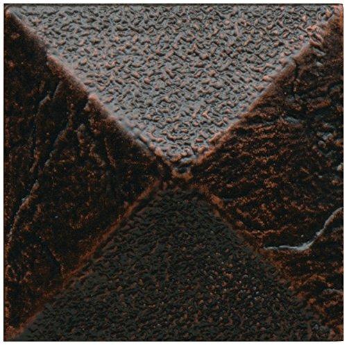 Dal-Tile 22DOT1P-AM32 Armor Tile, 2'' x 2'', Oil Rubbed Bronze