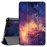 """Fintie Samsung Galaxy Tab A 8.0 2017 Case, Ultra Lightweight Slim Shell Standing Cover with Auto Sleep/Wake for Galaxy Tab A 8"""" (New) SM-T380 / T385 2017 Release, Galaxy"""